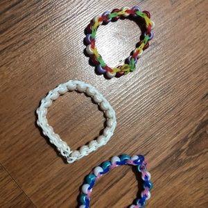 Vsco bracelets set of 3
